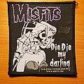 """Misfits """"Die Die My Darling"""" patch"""