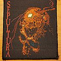 "Sepultura ""Beneath The Remains"" patch"
