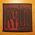 "Cannibal Corpse - Patch - Cannibal Corpse ""Kill"" patch"