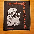 "Slayer - Patch - Slayer ""Here Comes The Pain"" patch"