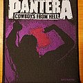 "Pantera 1992 ""Cowboys From Hell"" patch"