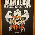 "Pantera ""Cowboys From Hell"" Kills backpatch"