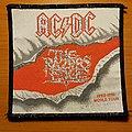 "AC/DC ""The Razors Edge 1990-1991 World Tour"" patch"