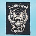 "Motörhead - Patch - Motörhead ""England"" patch"