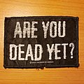 "Children Of Bodom - Patch - Children Of Bodom ""Are You Dead Yet?"" patch"