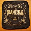 Pantera 2003 101 proof patch