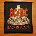 "AC/DC - Patch - AC/DC ""Hell's Bell Back In Black"" patch"