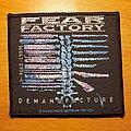 "Fear Factory - Patch - Fear Factory ""Demanufacture"" patch"
