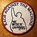 "Rage Against The Machine - Patch - Rage Against The Machine ""The Battle For Los Angeles"" patch"