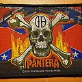Pantera 2001 rebel flag patch