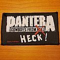 """Pantera """"Cowboys From Heck"""" patch"""