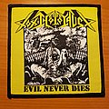 "Toxic Holocaust - Patch - Toxic Holocaust ""Evil Never Dies"" patch"