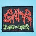 "Gwar - Patch - Gwar ""Scumdogs Of The Universe"" patch"