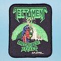 "Testament - Patch - Testament ""Greenhouse Effect"" patch"