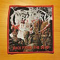 """Obituary - Patch - Obituary """"Back From The Dead"""" patch"""
