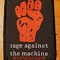 Rage Against The Machine 1994 Fist Patch