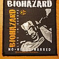 """Biohazard """"No Holds Barred"""" patch"""