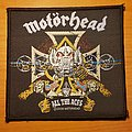 "Motorhead ""All The Aces"" patch"