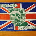 "The Exploited - Patch - The Exploited ""England"" patch"