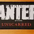 "Pantera 1993 ""Unscarred"" patch"