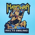 "Manowar - Patch - Manowar ""Hail To England"" patch"
