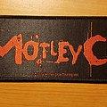 Mötley Crüe - Patch - Mötley Crüe superstrip patch