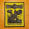 """Bolt Thrower - Patch - Bolt Thrower """"Realm Of Chaos"""" patch"""