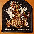 "Warbringer ""Waking Into Nightmares"" patch"