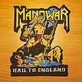 "Manowar - Patch - Manowar ""Hail To England"" patch"