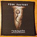 """Fear Factory """"Obsolete"""" patch"""