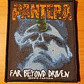 Pantera 2018 Far Beyond Driven patch