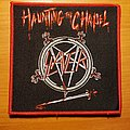 "Slayer ""Haunting The Chapel"" patch"