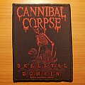 "Cannibal Corpse - Patch - Cannibal Corpse ""A Skeletal Domain"" patch"