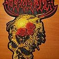 "Sepultura ""Beneath The Remains"" embroidered backpatch"