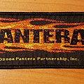 Pantera 2004 Flaming Skull strip patch