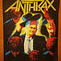 "Anthrax - Patch - Anthrax ""Among The Living"" backpatch"