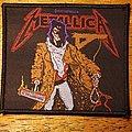 "Metallica ""Unforgiven"" patch"