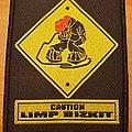 """Limp Bizkit """"Caution"""" patch"""