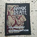 Napalm Death - Patch - Napalm Death - Harmony Corruption 1991 patch