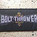 Bolt Thrower - Patch - Bolt Thrower - Logo 1991 patch