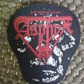 Patch - Asphyx Last one on earth woven patch
