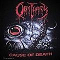 Obituary - TShirt or Longsleeve - Obituary - Cause Of Death 1991 tour TS
