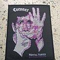 Coroner - Mental Vortex 1991 patch