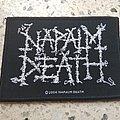 Napalm Death - Patch - Napalm Death - logo 2004 patch