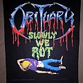 Obituary - Slowly We Rot 1990 BP Patch