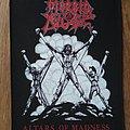 Morbid Angel - Patch - Morbid Angel - Altars of Madness 1991 BP