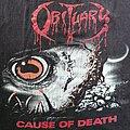 Obituary - TShirt or Longsleeve - Obituary - Cause Of Death 1990 TS