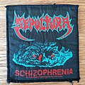 Sepultura - Patch - Sepultura - Schizophrenia patch