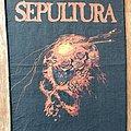 Sepultura - Patch - Sepultura - Beneath the Remains 1990 BP