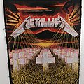 Metallica - Patch - Metallica - Master of Puppets 80's BP